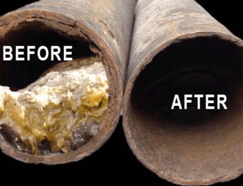 SEWER PIPE DESCALING