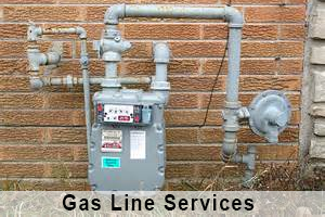 GAS LINE SERVICES - GAS LINE REPAIR
